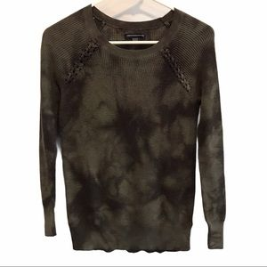 American Eagle women's camouflage sweater size xs